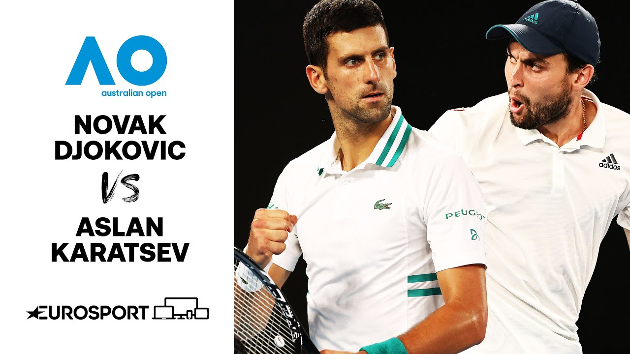 Novak Djokovic v Aslan Karatsev | Australian Open 2021 - Highlights | Tennis