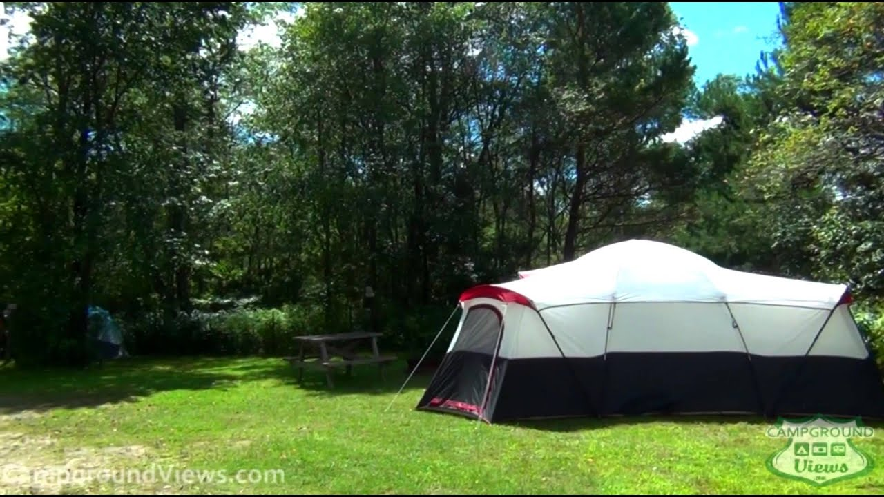 Tarry ho campground and cabins twin for Cabin camping new hampshire