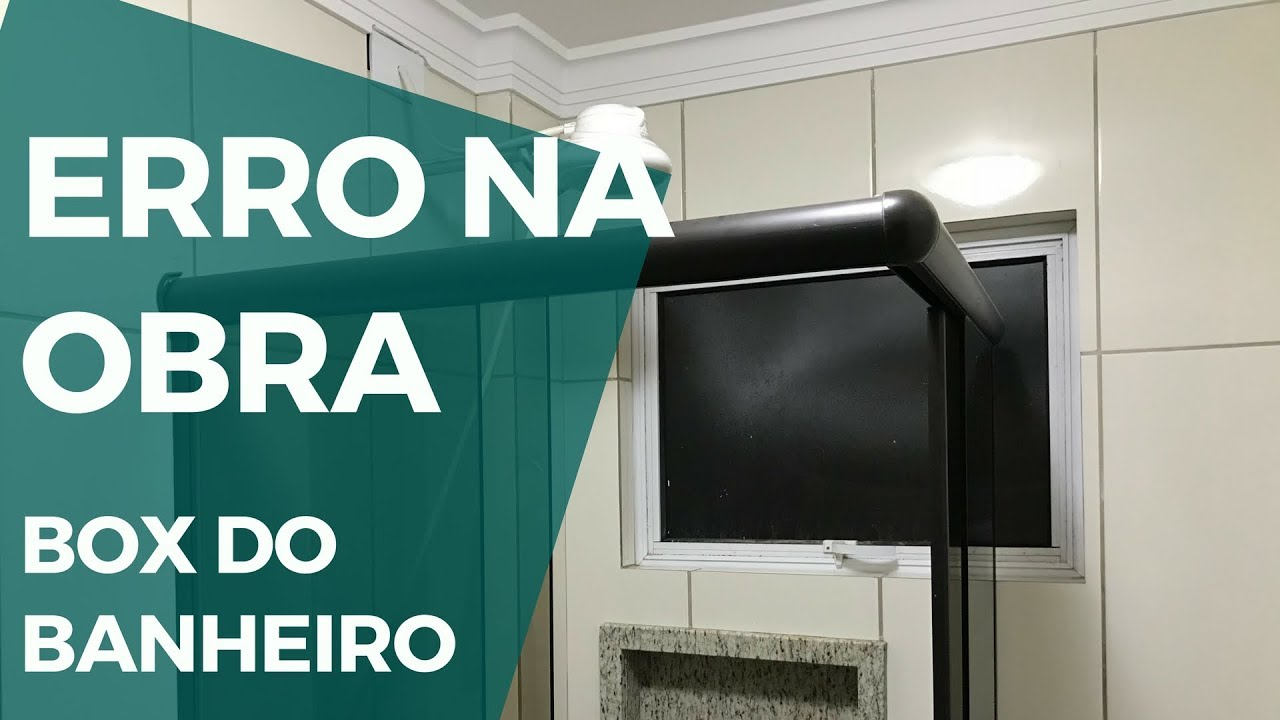Erro Na Obra Box Do Banheiro Montado Na Frente Da Janela Marcelo Akira 140 De 500