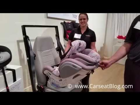 Britax Advocate ClickTight Convertible Carseat First Look Review: Installation with CLICKTIGHT