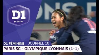 J10 : Paris SG - Olympique Lyonnais (1-1) / D1 Féminine