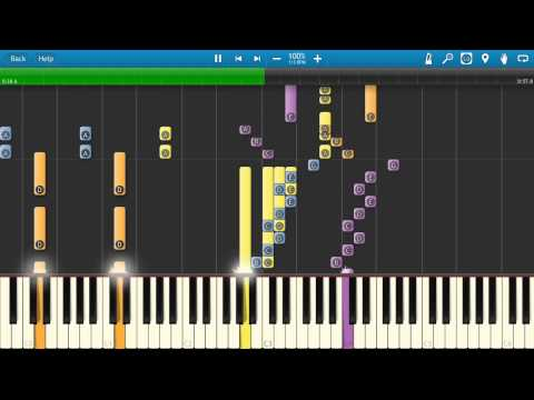 Lois & Clark - The New Adventures of Superman TV Theme Tune - Synthesia Cover - Piano Tutorial