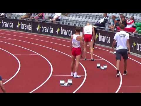 Finały 400 m mężczyzn. Mistrzostwa Europy Weteranów Aarhus 2017
