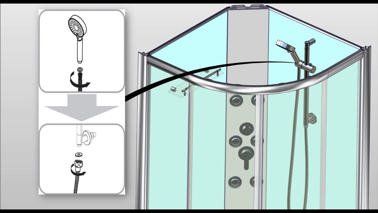 trendline fertigdusche easy fix new youtube. Black Bedroom Furniture Sets. Home Design Ideas