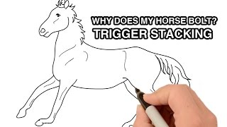 Why does my horse bolt? Trigger stacking | Animated Series Episode 9