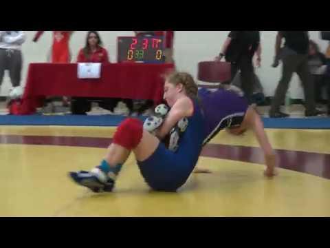 2017 York Open WW48kg Augusta Eve (Impact) vs Christine Grafe (Western)