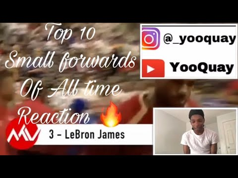 Top 10 Small Forwards Of All Time ( REACTION ) 🔥