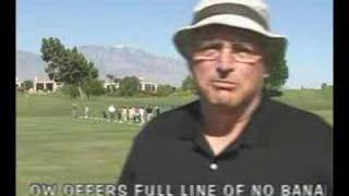 USA Golf & Travel test the No Bananas Anti-Slice Driver