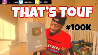 Thank Yall for this! Unboxing Of 100k Silver Play Button!