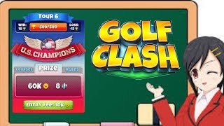 Golf Clash Tour 6 Tutorial with Lower Level Clubs
