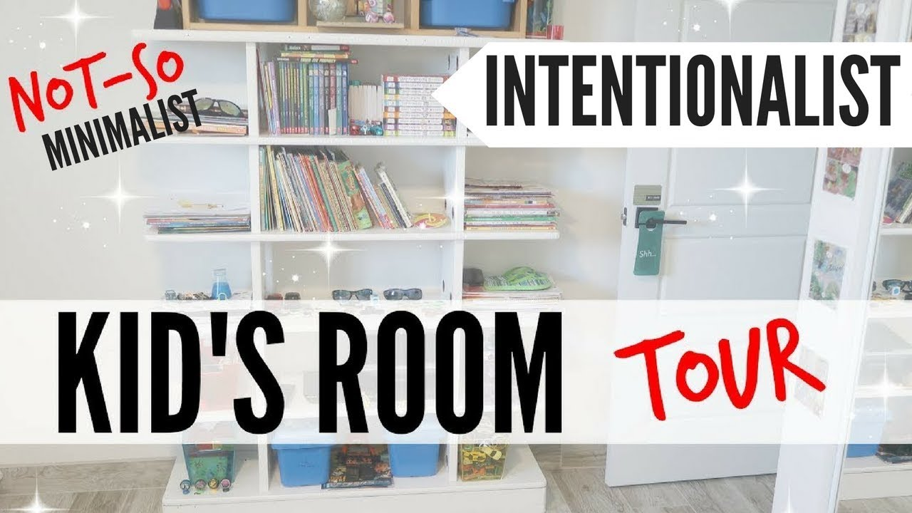 Kids room tour semi minimalist fixer upper before after for Minimalist bedroom tour