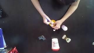 Рецепт лизуна из пенопласта и жидкости для снятия гель-лака