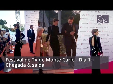 Stana Katic @ Monte Carlo TV Festival: Arriving & leaving (Jun. 16, 2017)