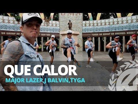 QUE CALOR by Major Lazer,J Balvin,Tyga | Zumba | TML Crew Kramer Pastrana
