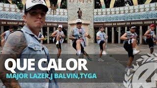 Download QUE CALOR by Major Lazer,J Balvin,Tyga | Zumba | TML Crew Kramer Pastrana Mp3 and Videos
