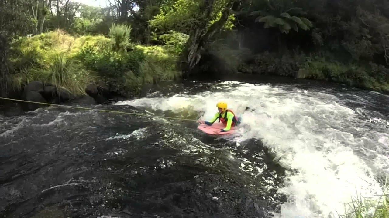 Body Boarding Artificial Wave GoPro Footage