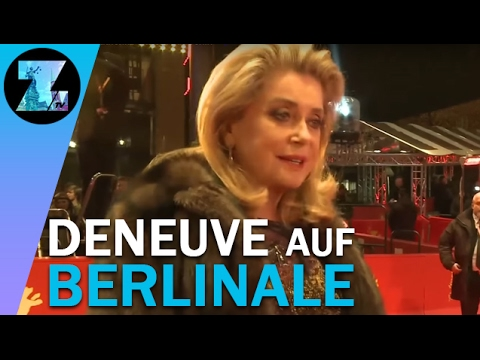 Echter Glamour: Catherine Deneuve in Berlin