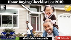 How To Buy A Home In 2019 - Home Buying Checklist - First Time,MyFico,Credit Monitoring Services,DIY