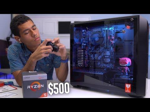 $500 Budget Gaming PC Build - Ryzen 5 2400G (w/ Benchmarks)