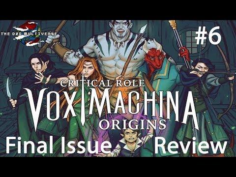 Vox Machina Origins #6 Comic Book Review | Dragon Tavern