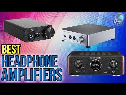 10 Best Headphone Amplifiers 2017