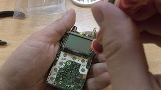 Disassembly va walkie talkie Zastone bu nüansları Assambleyasi ZT-2R (Yaesu VX-2R)
