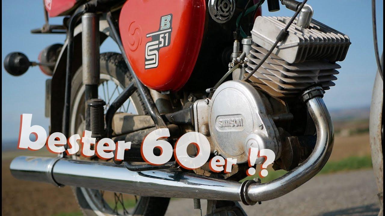 Bester 60er für Simson S51?   ALLTAGSTAUGLICH