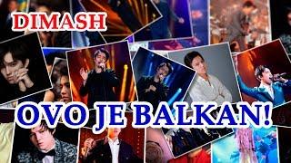 ДИМАШ  D MASH   Это Балканы  Ovo Je Balkan Slide Show By Druppy Channel