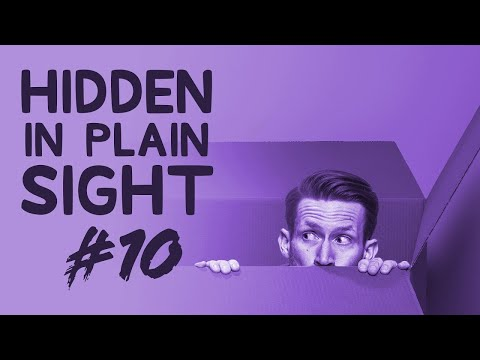 Can You Find Him in This Video?  Hidden in Plain Sight #10