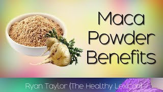 Maca Powder: Benefits & Uses (Maca Root)