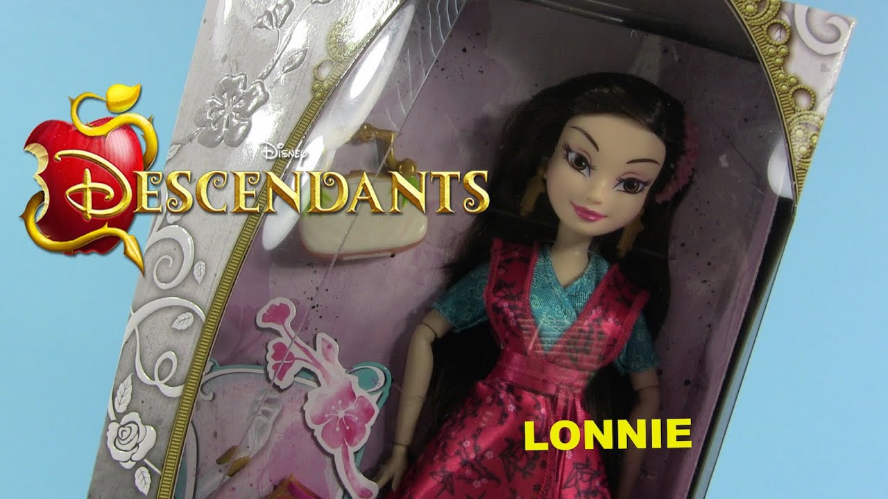 Disney Descendants Lonnie Daughter Of Mulan Doll Review ...