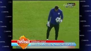 Champions League: Hoy Barcelona recibe al Manchester City