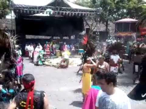 Danzantes en Tenayuca, Tlalnepantla de Baz