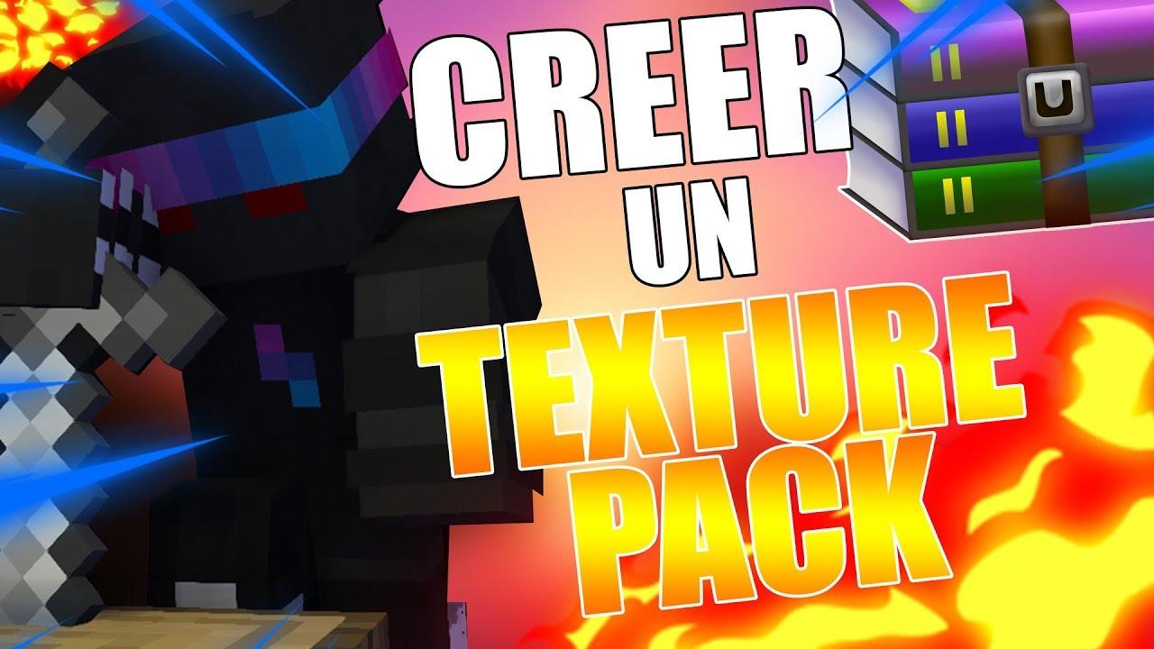 TUTO COMMENT CRÉER SON PROPRE PACK DE TEXTURE MINECRAFT ! - YouTube