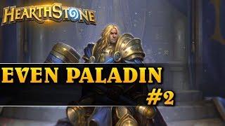 TEN DECK JEST AMAZING! - EVEN PALADIN #2 - Hearthstone Decks std