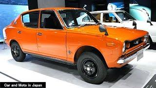 ( 4K ) Nissan Cherry X-1 4-Door Sedan 1970 PE10