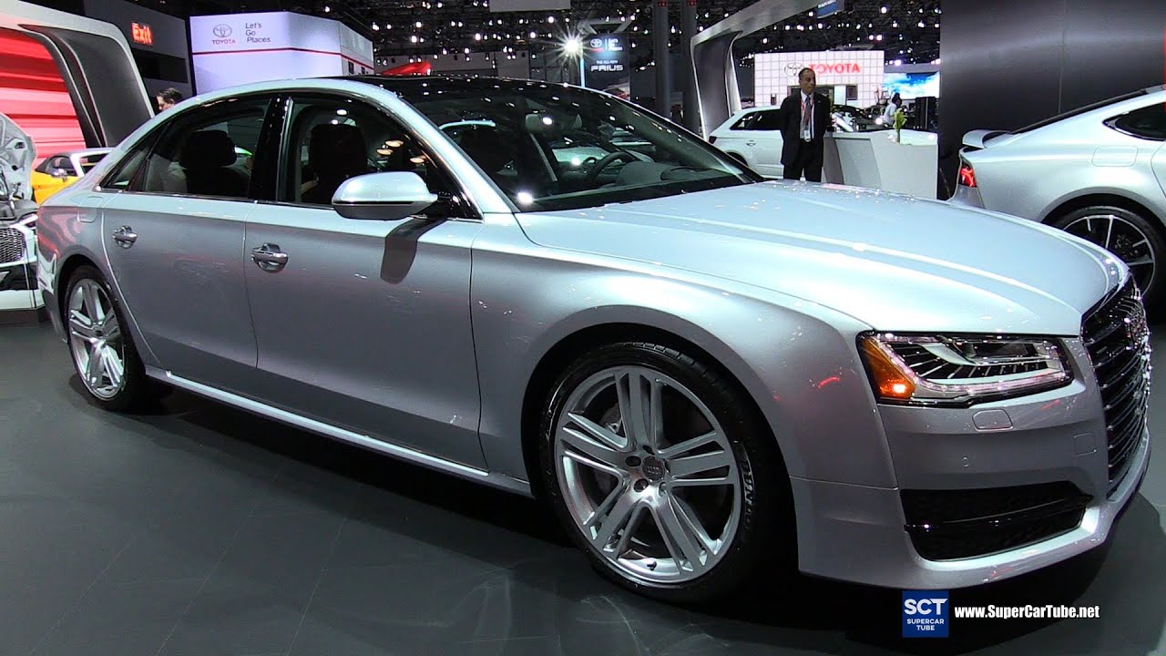 2016 audi a8 l 4 0t quattro exterior and interior walkaround 2016 new york auto show youtube. Black Bedroom Furniture Sets. Home Design Ideas
