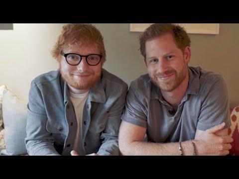 Принц Гарри и Эд Ширан снялись в забавном ролике