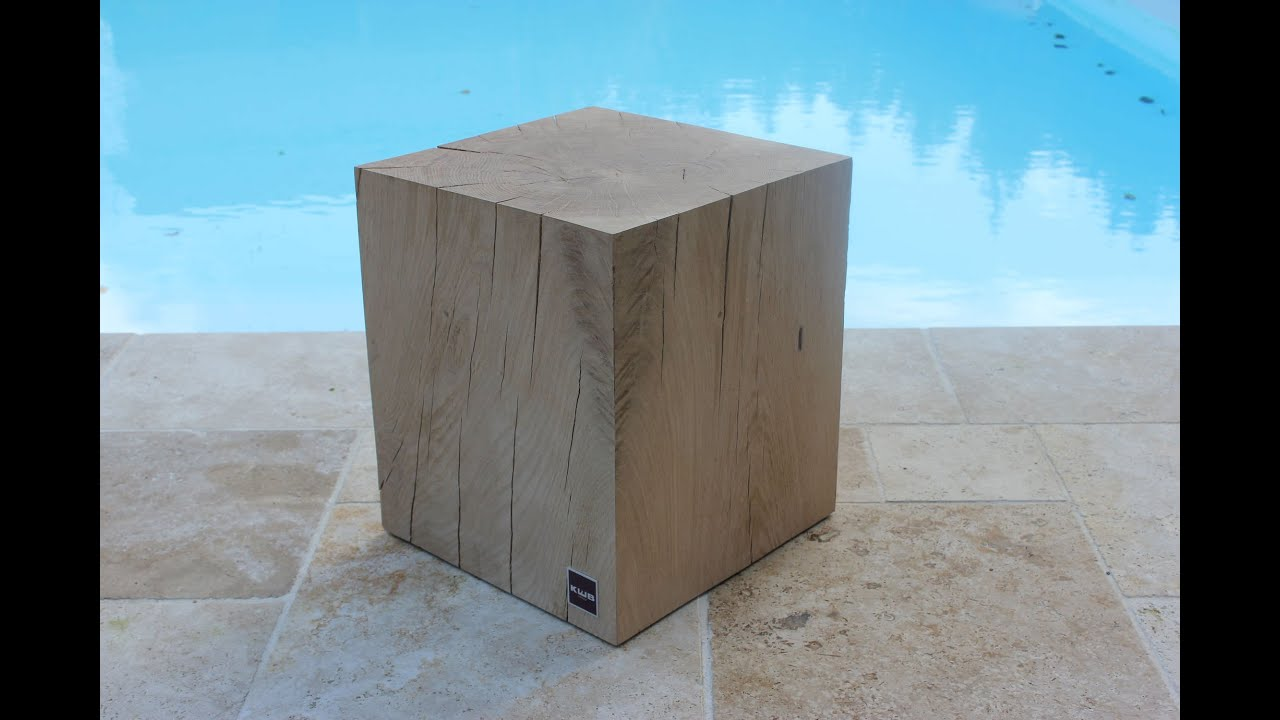 cube en bois youtube