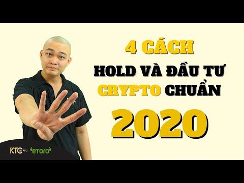 4 Cách Hold Coin Và Đầu Tư Crypto Chuẩn Nhất 2020