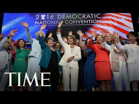 International Women's Day: Nancy Pelosi & Democratic Congresswomen Present Powerful Speeches | TIME