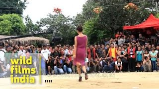 Mizoram fashion show: models in colourful outfits