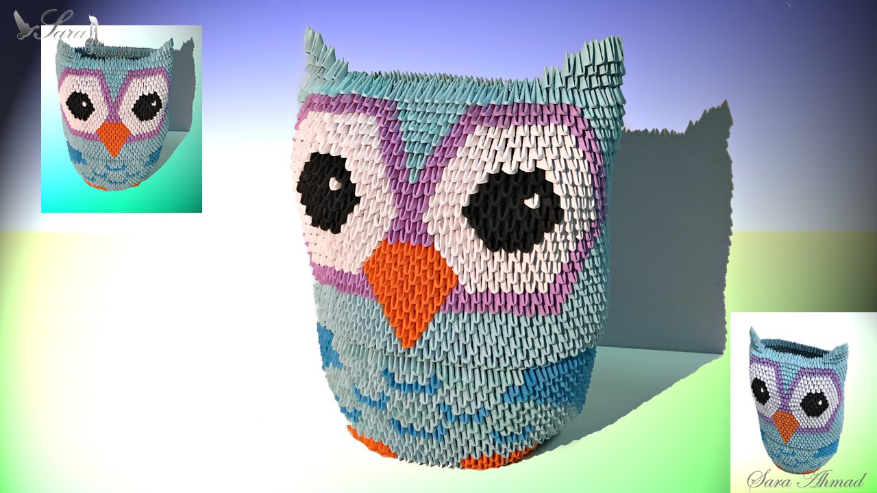 how to make 3d origami owl youtube