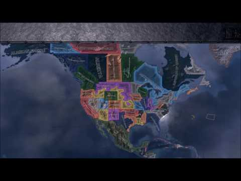 What if the United States Fell Apart?(HOI4 Timelapse)