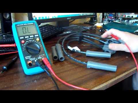 Как проверить провода высокого напряжения на автомобиле мультиметром
