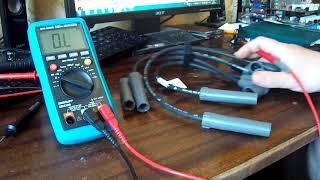Как проверить высоковольтные провода от автомобиля мультиметром (случай из жизни)