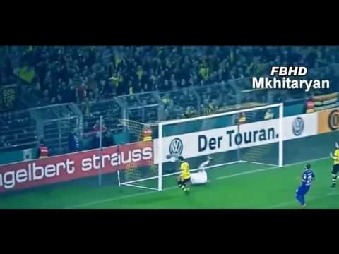 Henrikh Mkhitaryan - Skills \u0026 Goals - Генрих Мхитарян Голы И Финты за Боруссию дортмунд
