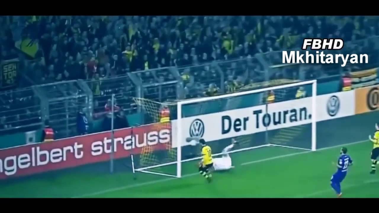 Футбол боруссия дортмунд мхитарян видео