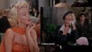 MARILYN MONROE - Gentlemen prefer Blondes - The Movie scene - When Love goes Wrong (High Quality)