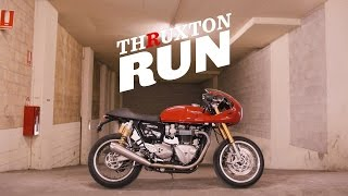 Thruxton Run: A Thruxton R Custom Build in 8 Weeks!